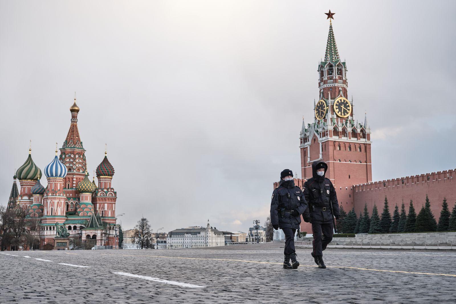 Coronavirus Outbreak In Russia