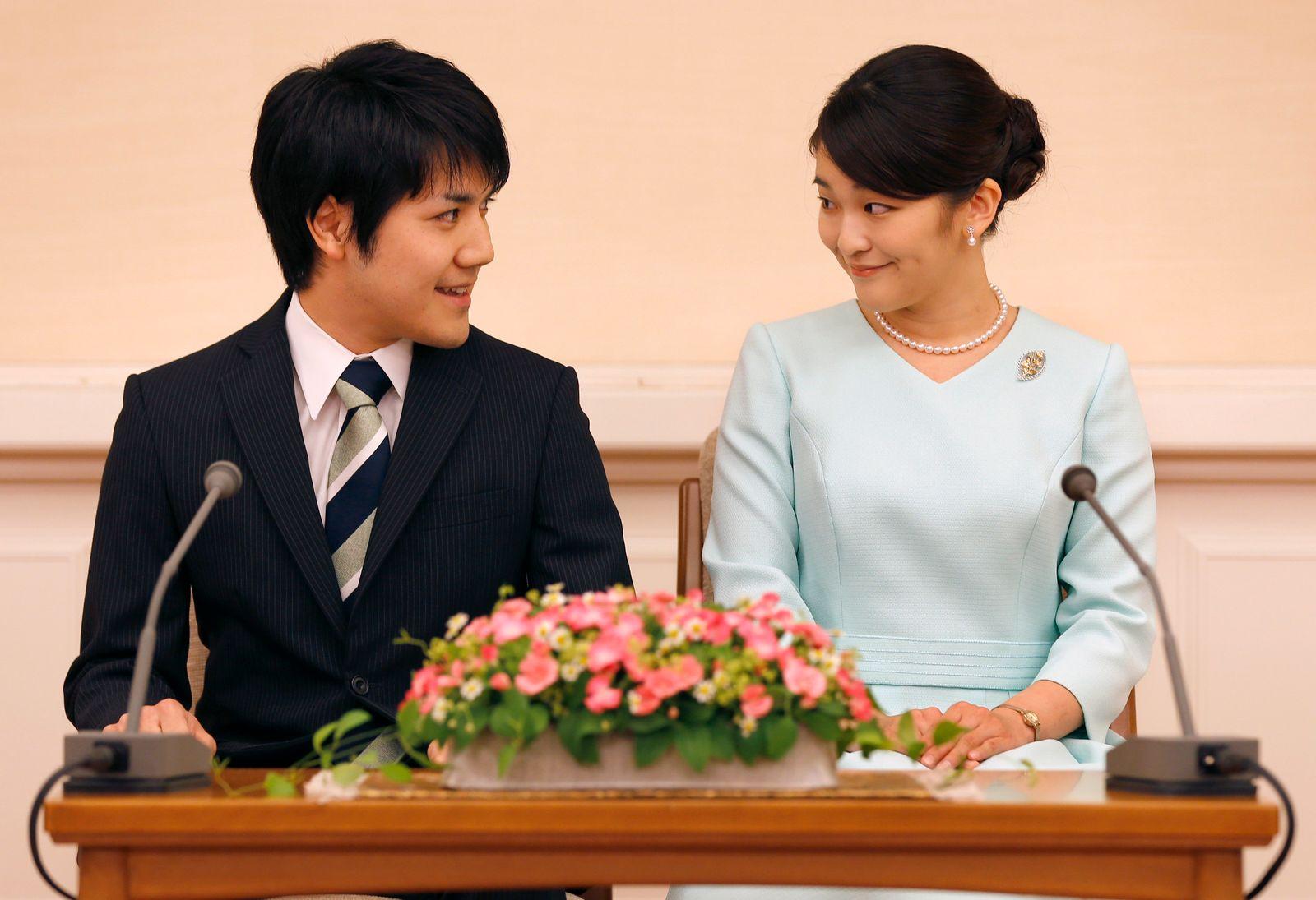 Japans Prinzessin Mako heiratet Studienliebe am 26. Oktober
