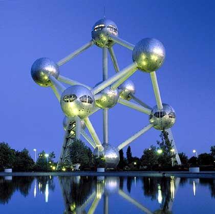 Atomium in Brüssel: Das alte Europa ist vielfältiger als die USA