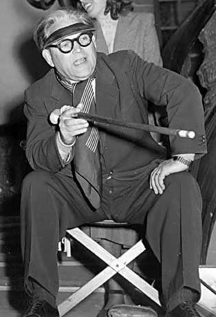 Repräsentativer Regisseur des Dritten Reiches: Veit Harlan am 31. Oktober 1950 in Göttingen
