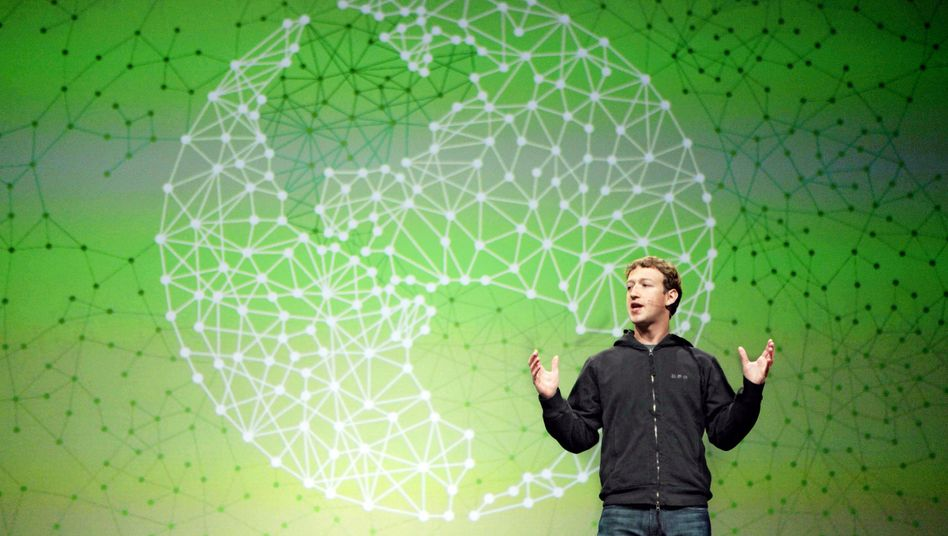 Facebook-Boss Mark Zuckerberg: Google im Visier