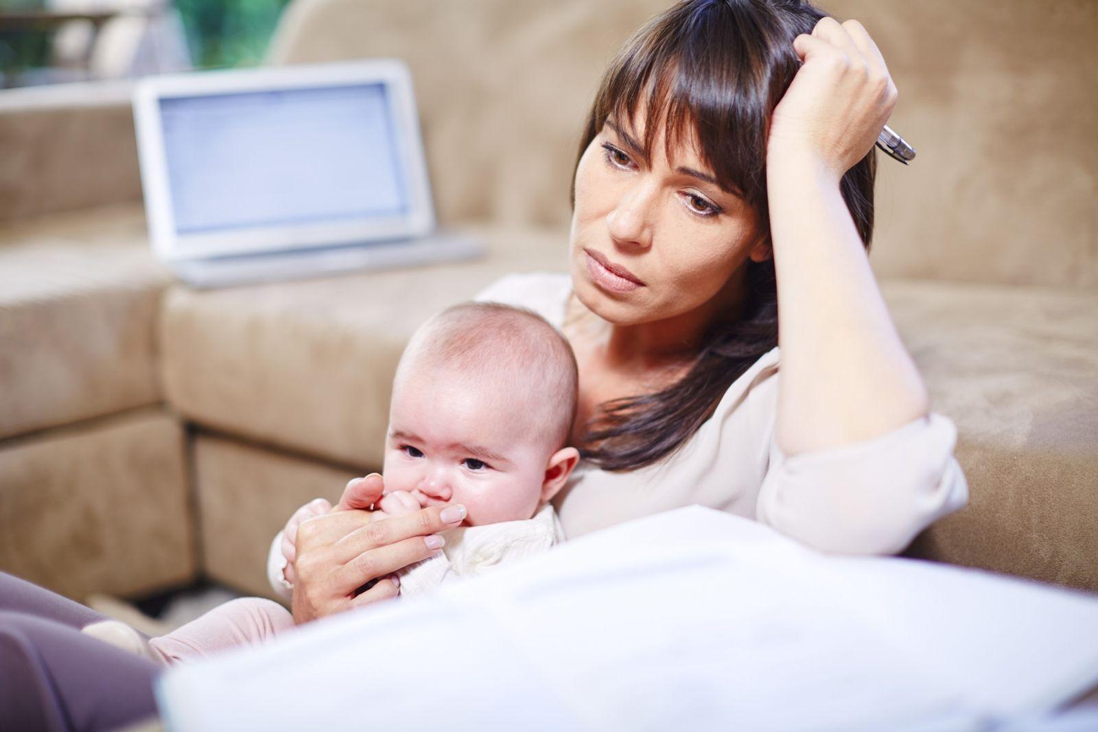NICHT MEHR VERWENDEN! - Mutter/ Kind/ Baby/ Heimarbeit/ Homeoffice