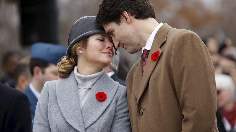 Ehepaar Trudeau (Archivbild): Aufregung wegen Coronavirus