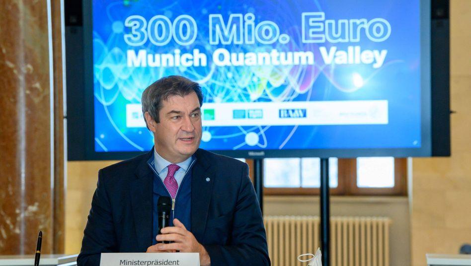 Markus Söder gilt als Verteidiger scharfer Anti-Corona-Maßnahmen