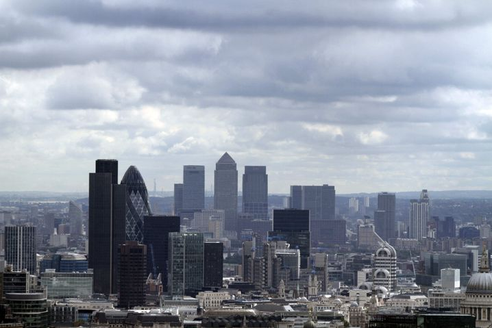 Der Finanzdistrikt in London: Warten auf das Bankenbeben