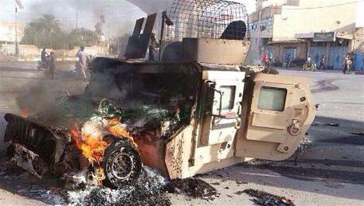 IS-Vormarsch: Irakische Armee kämpft verzweifelt um Anbar