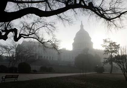 Kapitol in Washington: Kampf mit harten Bandagen