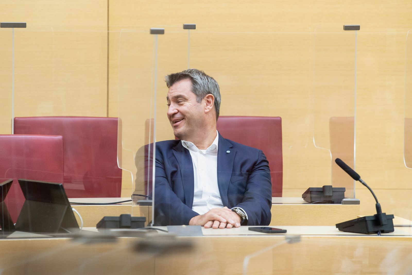 Sitzung der CSU-Fraktion im Bayerischen Landtag