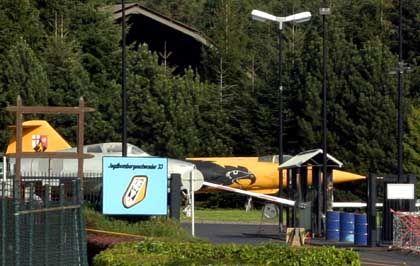 Jagdbombergeschwader 33 in Büchel: Übungen an Attrappen