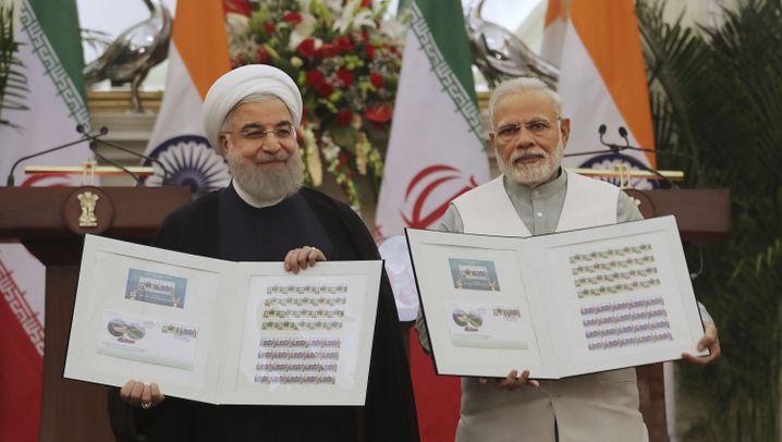 Indiens Außenpolitik: Namaste, Salam und Shalom