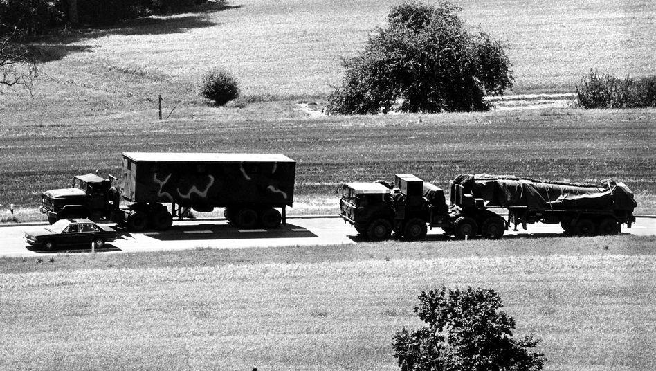 Raketentransport: Bewacht wie ein Goldtransport durch Komantschenland