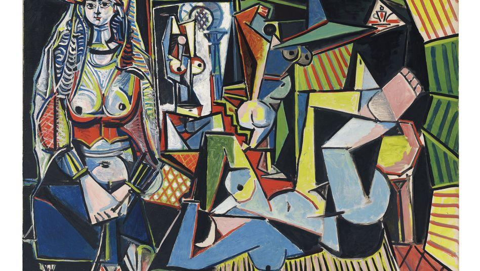 """Teuerstes Bild der Welt: 179 Millionen Dollar für Picassos """"Les femmes d'Alger"""""""