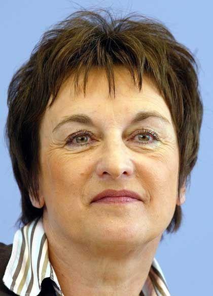 """Bundesjustizministerin Brigitte Zypries: """"Der Kopierschutz ist ein legitimes Mittel"""""""