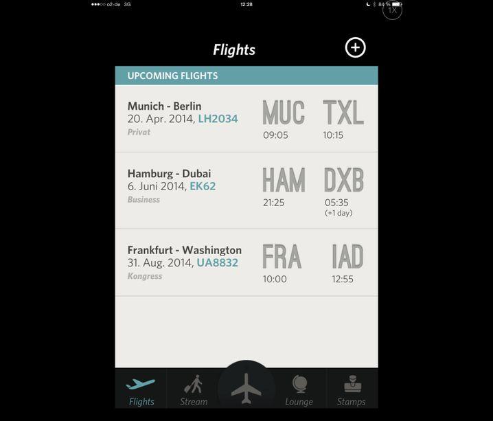 """Flugbegleiter: Wer oft in die Luft geht, behält mit """"Flying"""" den Überblick"""