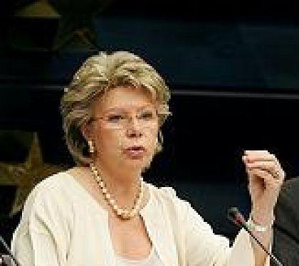 EU Information Society and Media Commissioner Viviane Reding
