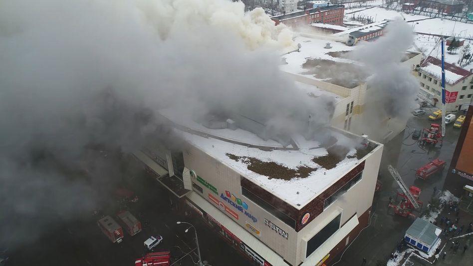 Einkaufszentrum in Kemerowo