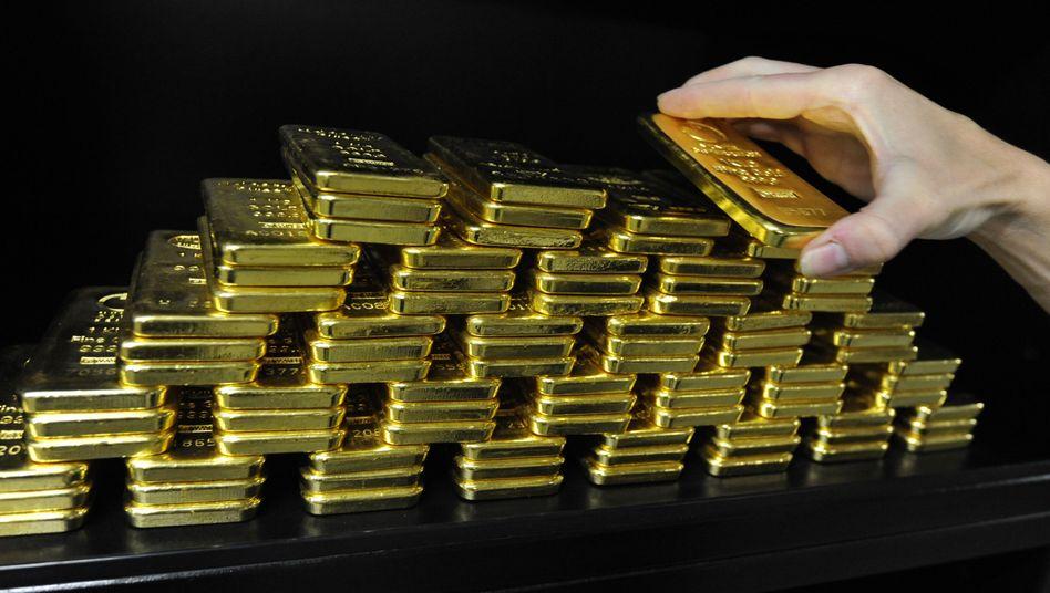 Goldbarren: Deutschland besitzt etwa 3400 Tonnen