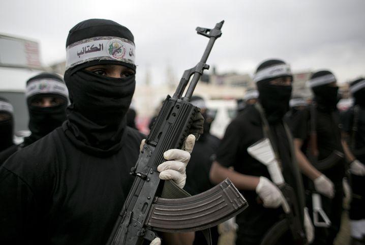 Ein Hamas-Kämpfer griff die Religionsschule in Jerusalem an