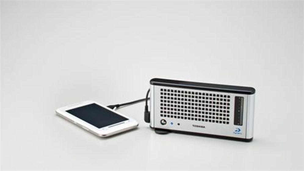 Toshiba Dynario: Eine Brennstoffzelle für Gadgets