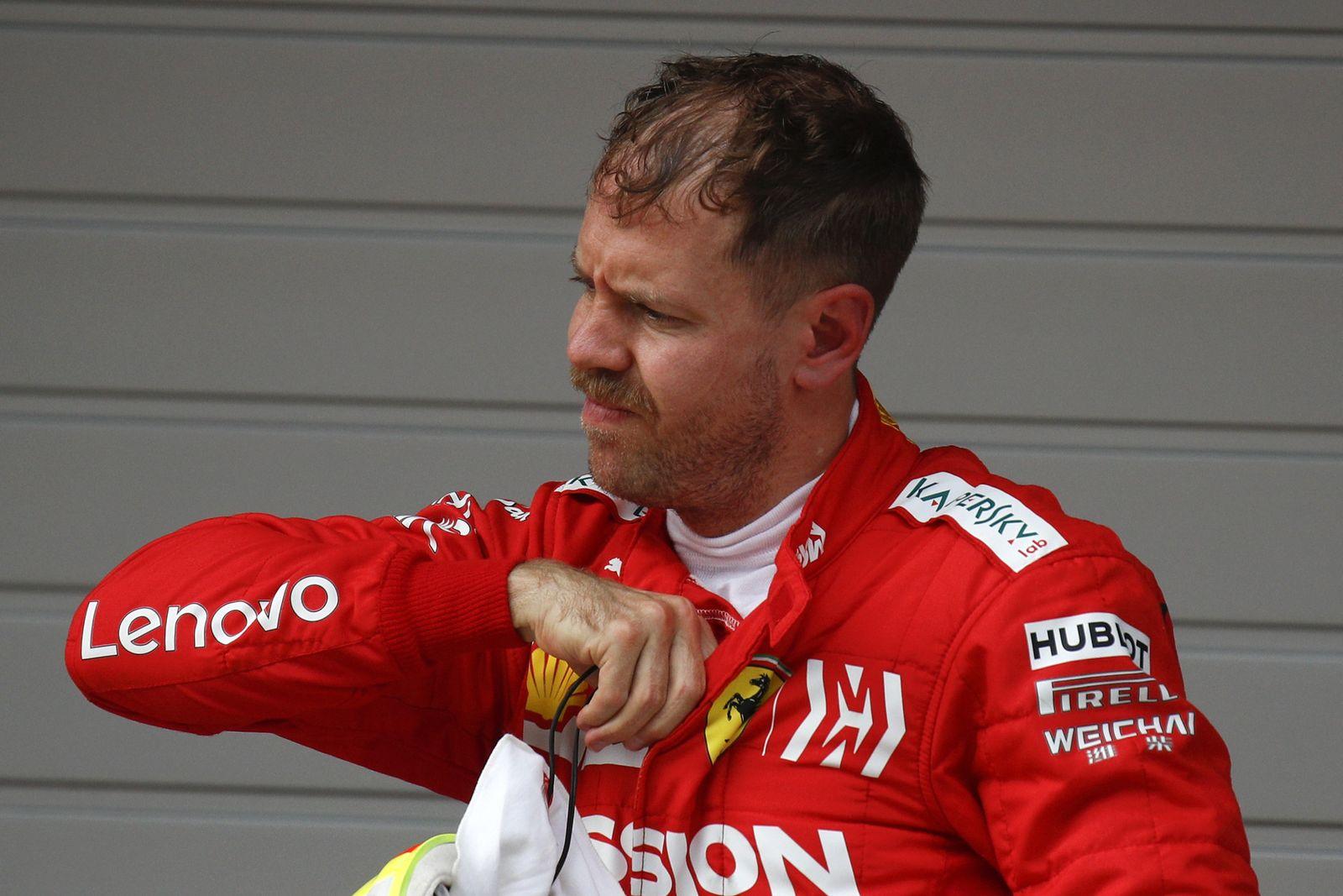 China Formel 1 Sebastian Vettel