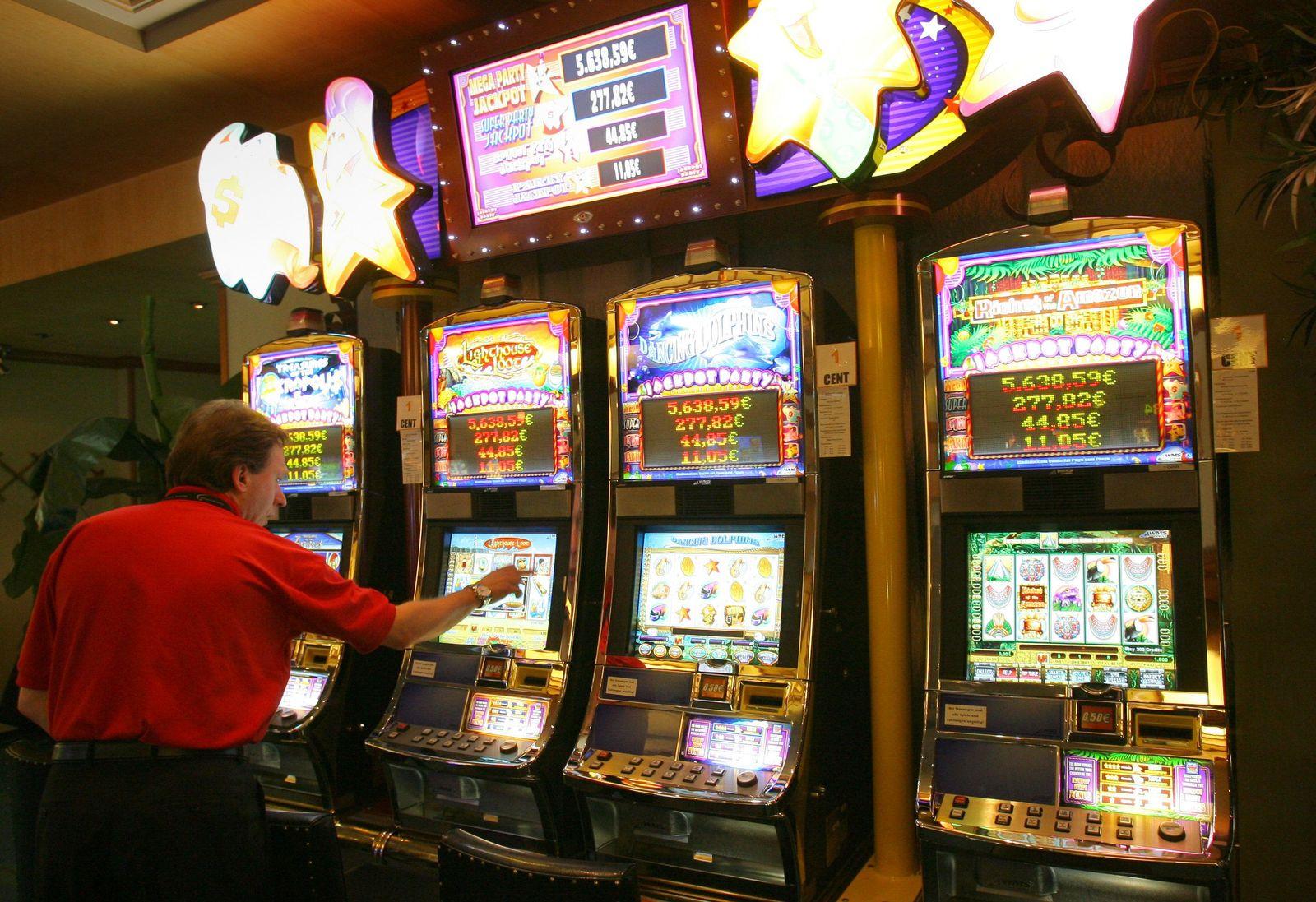 Spielautomaten/ Spielbank