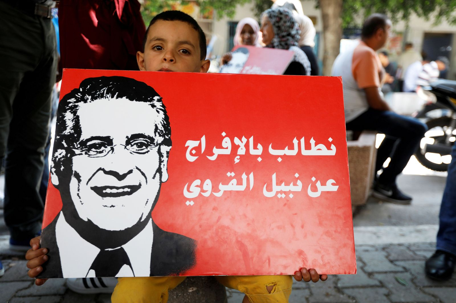 Nabil Karoui/Tunesien