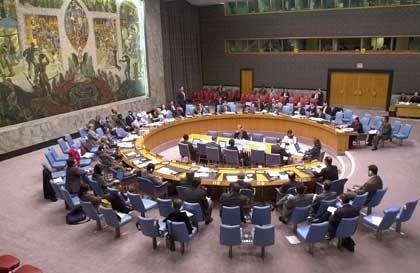 New York: Der Weltsicherheitsrat