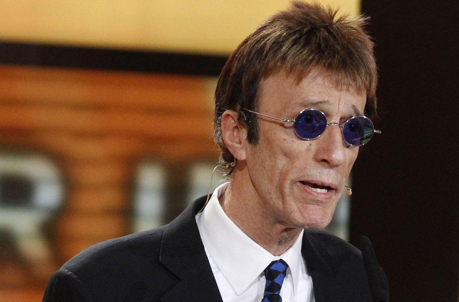 Robin Gibb im Krankenhaus - Premiere verpasst