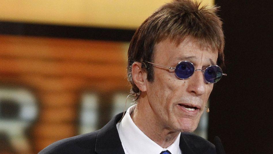Robin Gibb (Februar 2011): Der Bee-Gees-Sänger ist schwer erkrankt
