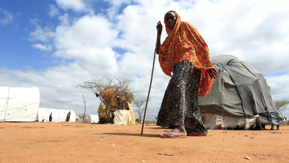 Flüchtling in Somalia