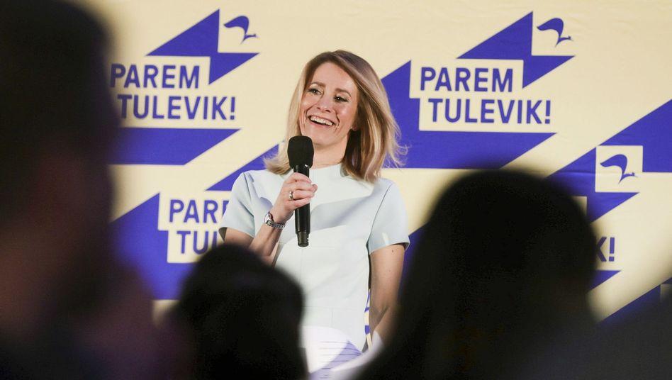 Kaja Kallas, Chefin der estnischen Reformpartei
