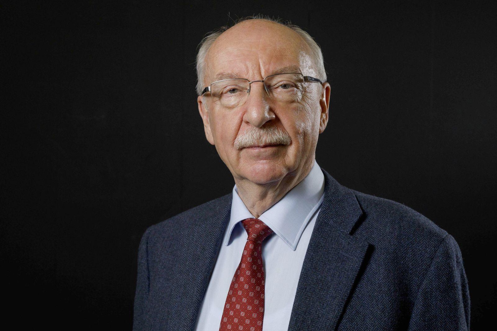 Gerd Gigerenzer bei seinem Vortrag zu seinem Buch Risiko Wie man die richtigen Entscheidungen trif