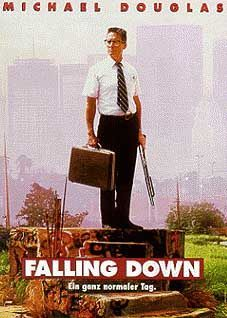 """Bis an die Zähne bewaffneter Fast-Food-Kunde: Michael Douglas in """"Falling Down"""""""