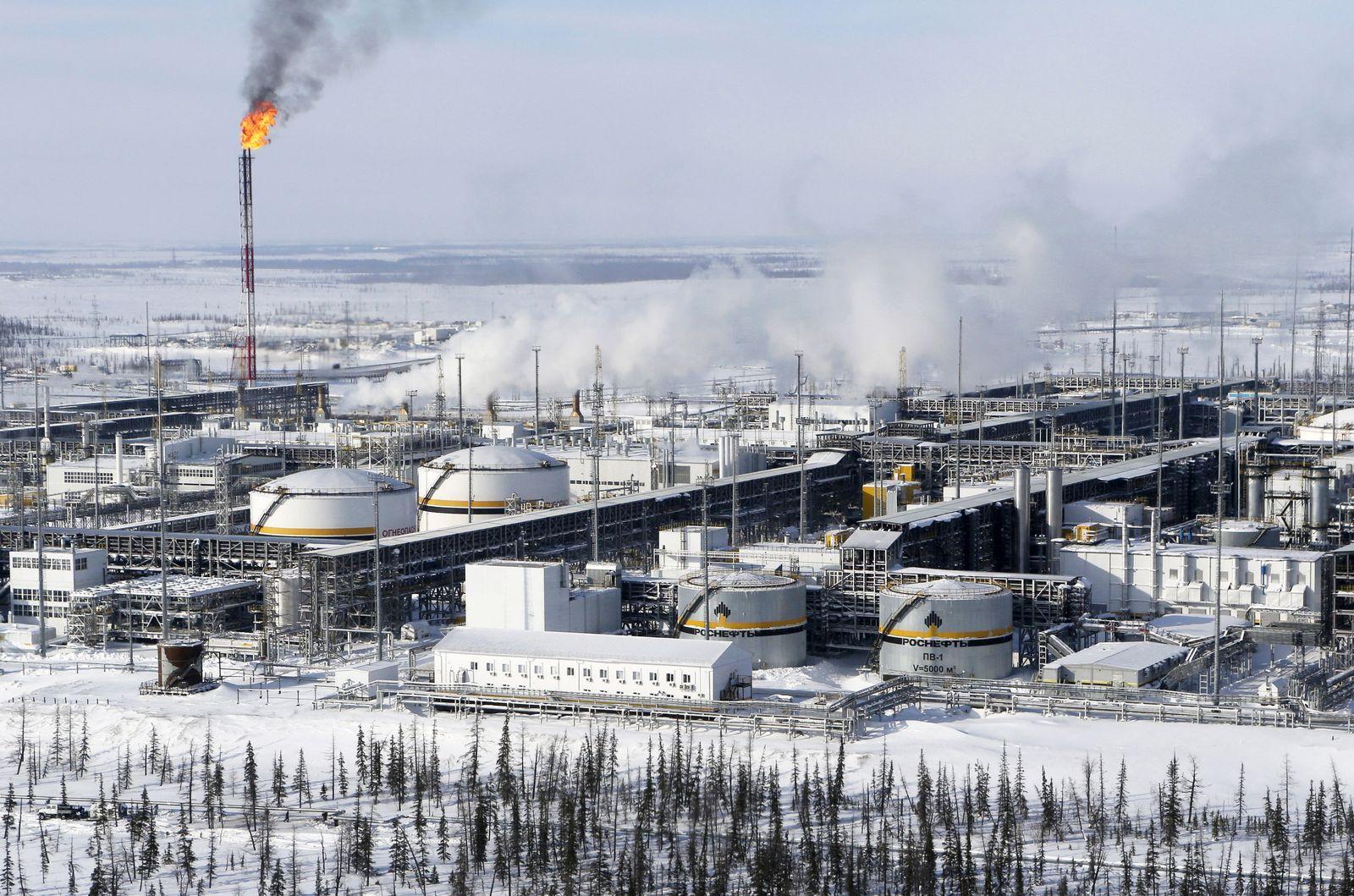 Russland / Ölfeld Sibirien