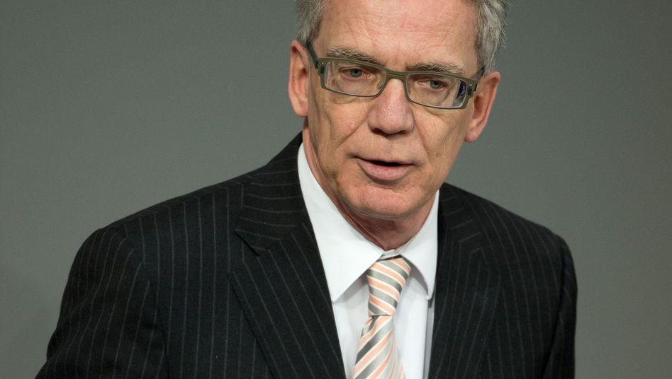 """Innenminister de Maizière: """"Als Verfassungsminister lehne ich das Kirchenasyl prinzipiell und fundamental ab"""""""