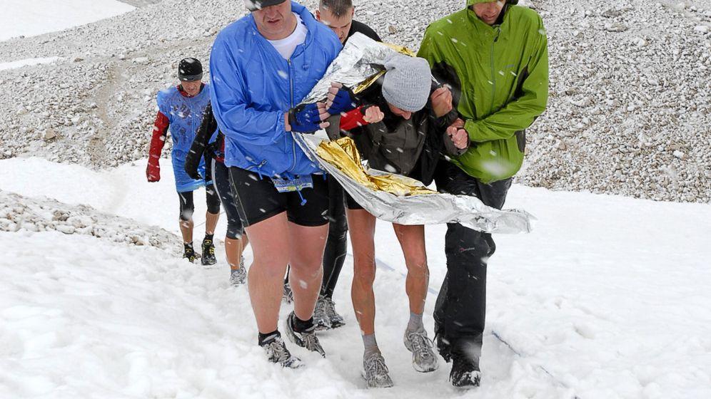 Zugspitzlauf: Tod in 2009 Meter Höhe