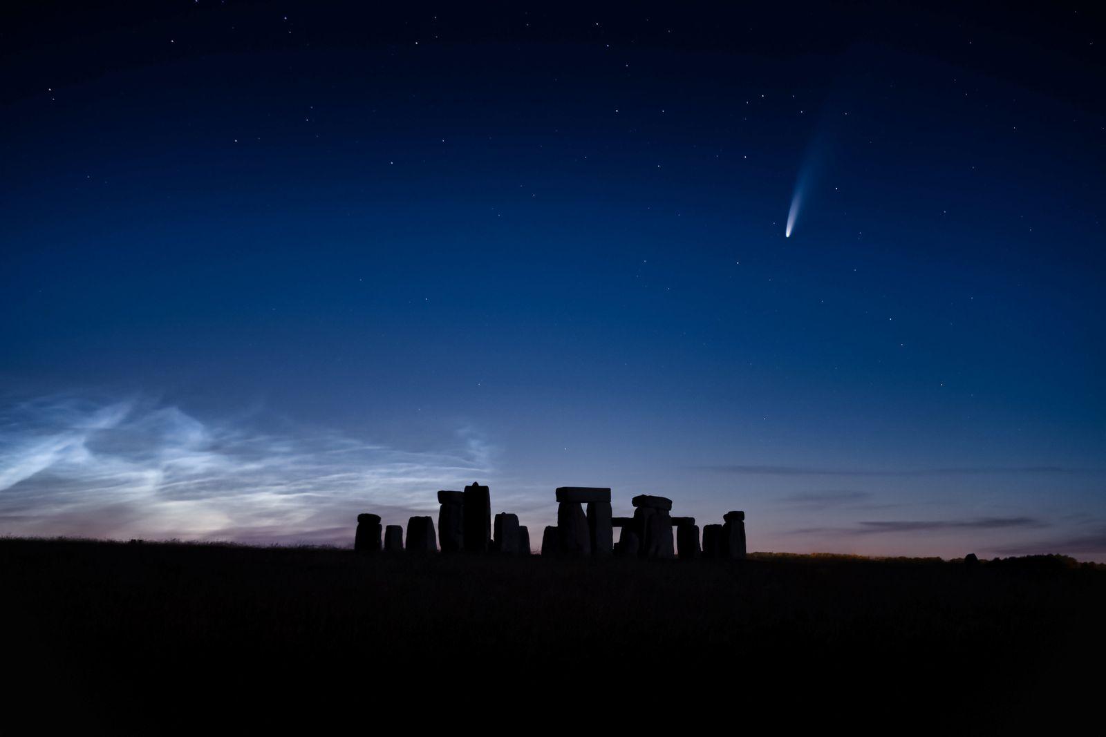 Himmelsphänomen: Komet Neowise zieht seine Bahn über Grossbritannien