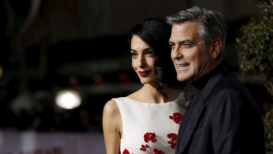 Amal und George Clooney sind seit 2014 verheiratet und haben zwei Kinder