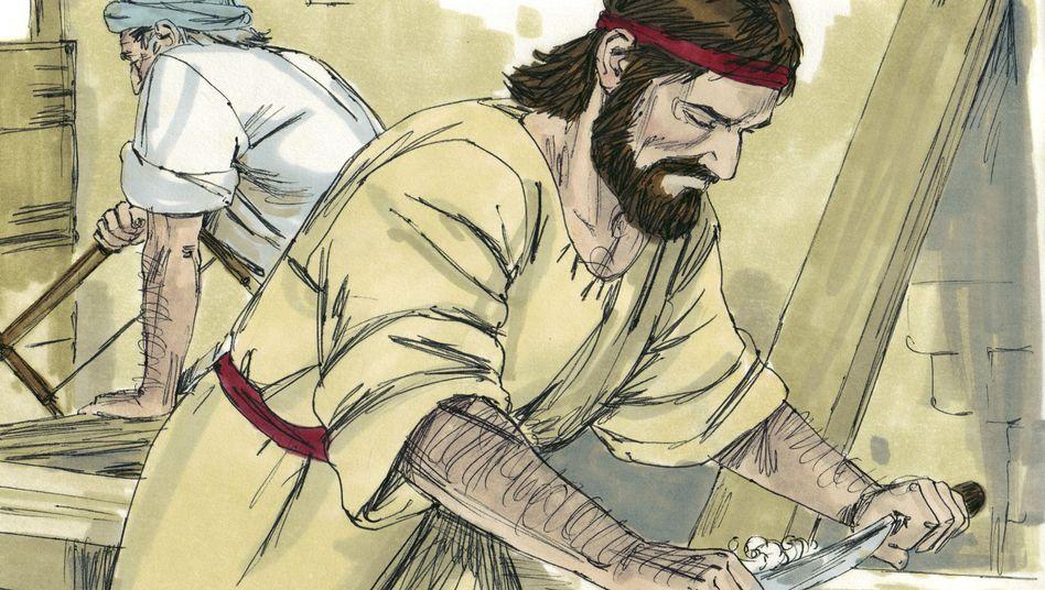 Jesus, Beruf: Zimmermann