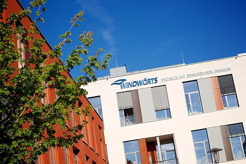 Firmengebäude der Windwärts Energie GmbH