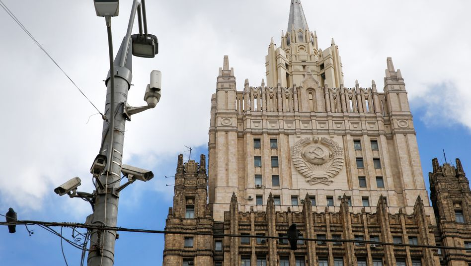Überwachungskameras in Moskau: Mit dabei waren wohl auch Bilder aus Bussen oder Eingängen von U-Bahn-Stationen