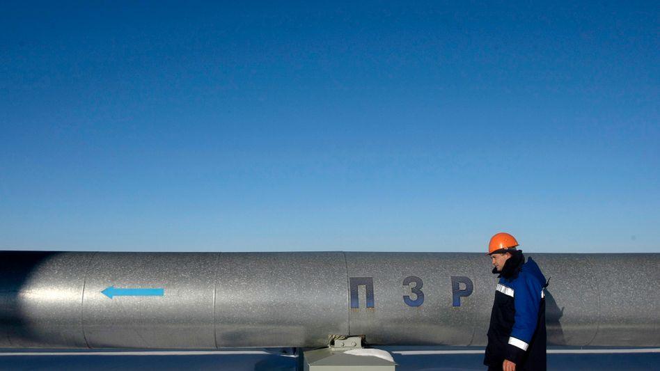 Pumpstation einer Gazprom-Pipeline: Moskau droht mit höheren Preisen