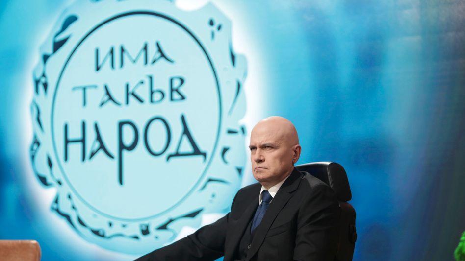 Parteichef und Wahlsieger Trifonov: Manche Bulgaren sagen, für eine ganze Generation gehöre er gleichermaßen zur Familie