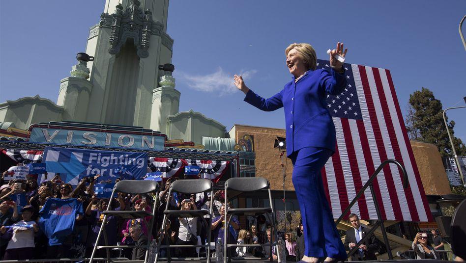 Hillary Clinton in Los Angeles