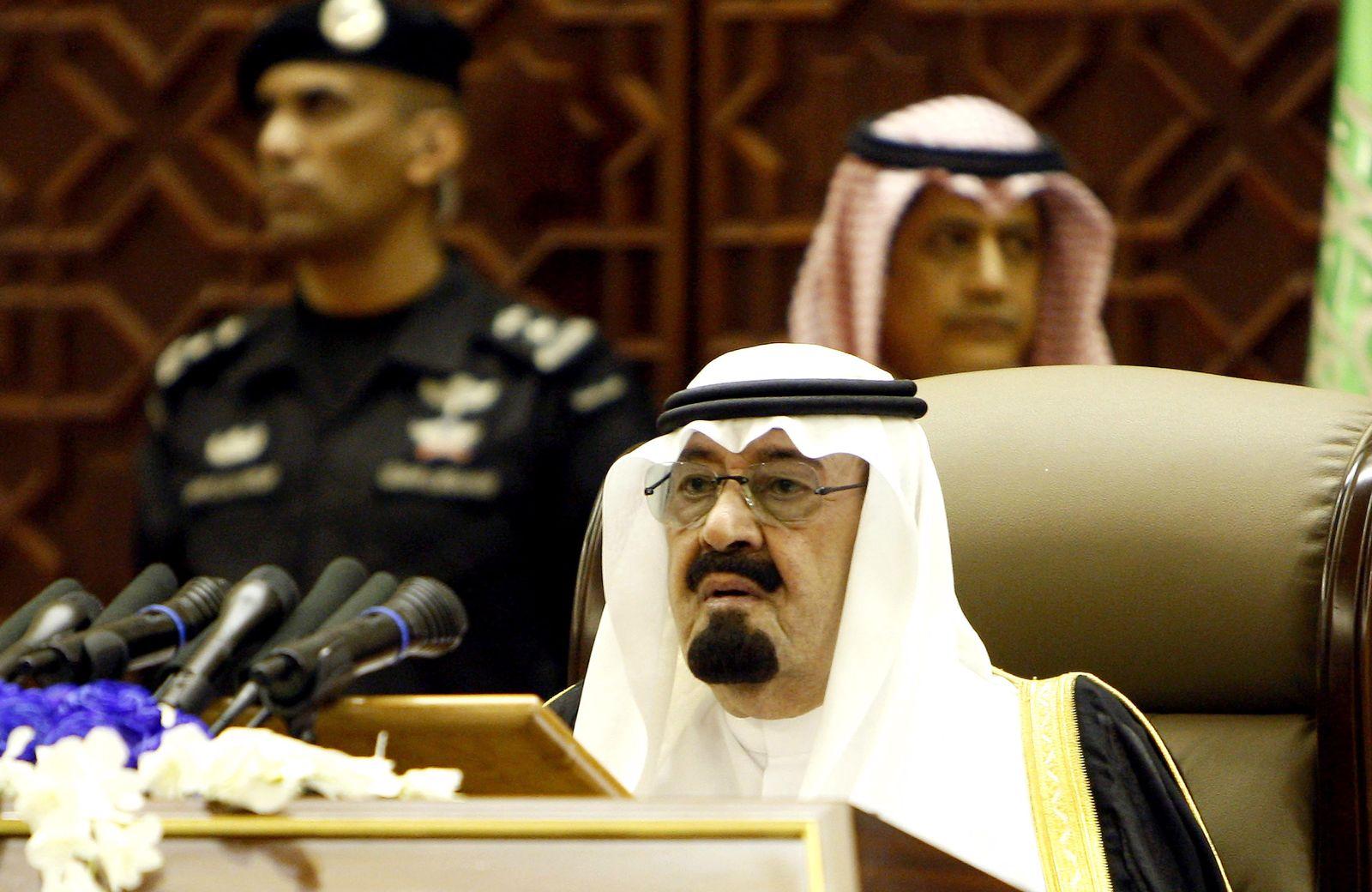 König Abdullah / Saudi Arabien