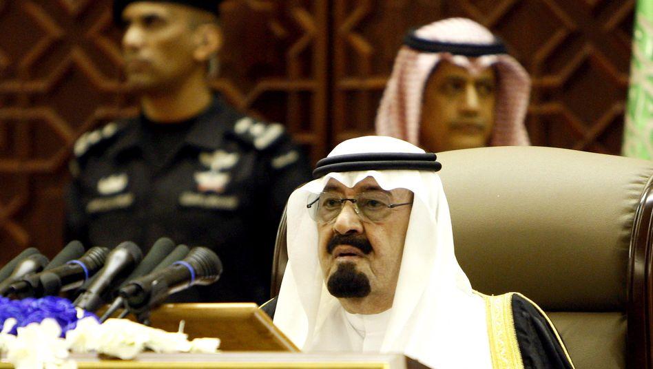 """Saudi-arabischer Regent Abdullah: """"Ein Dank an unseren geliebten König"""""""