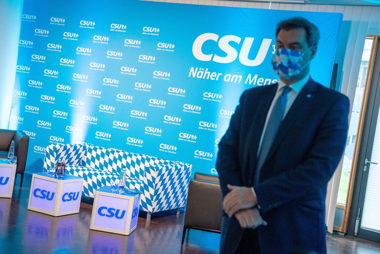Virtueller CSU-Parteitag