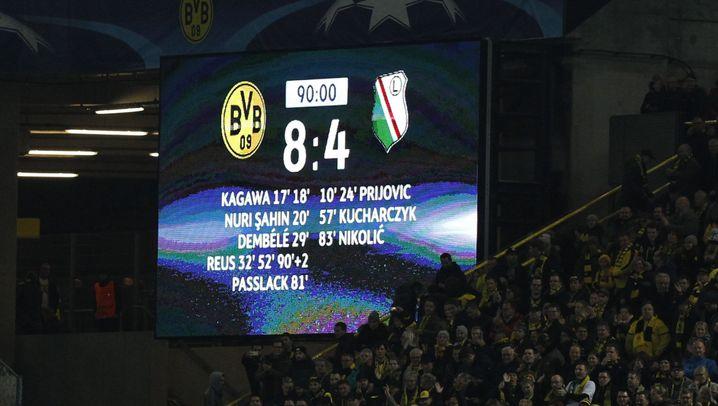 Champions-League-Analyse zum BVB: 8:4! Wie geht denn sowas?
