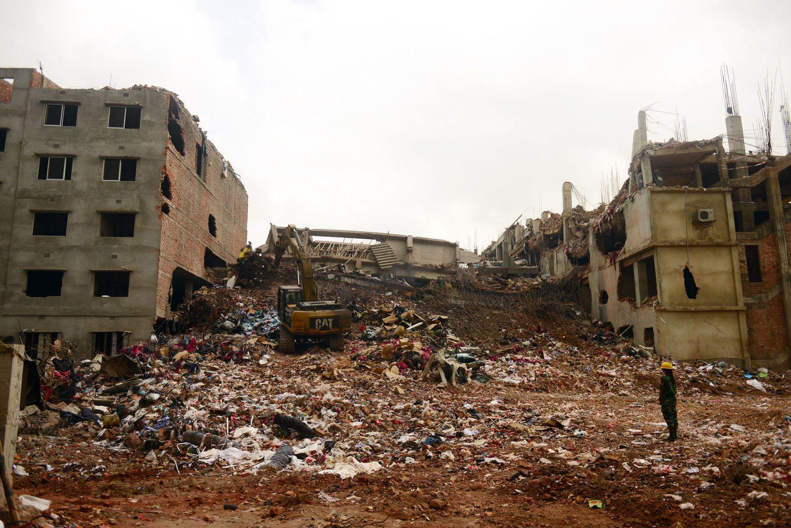 Bangladesch Fabrikeinsturz
