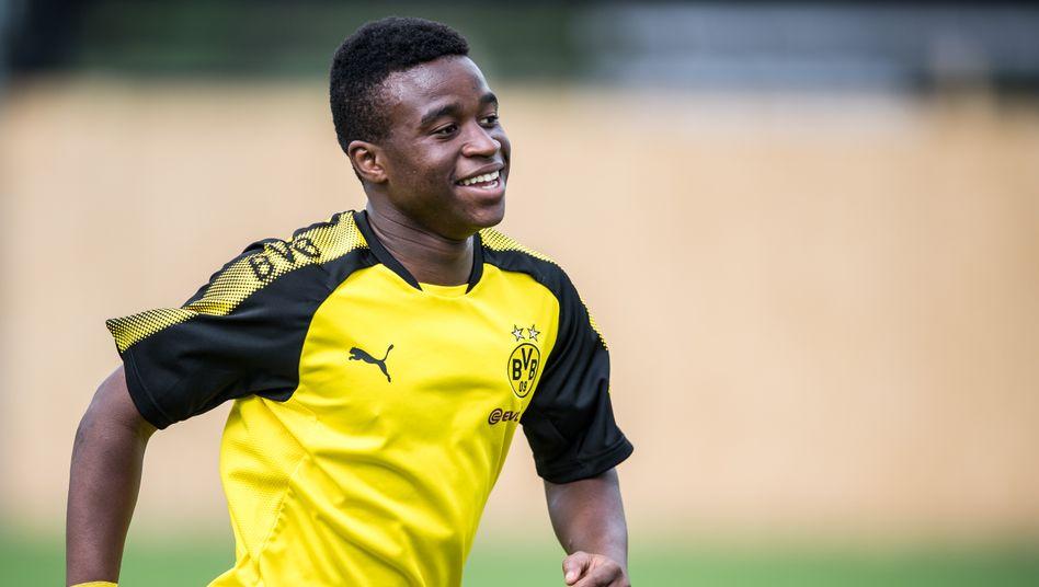 Youssoufa Moukoko spielt für Dortmunds U17.